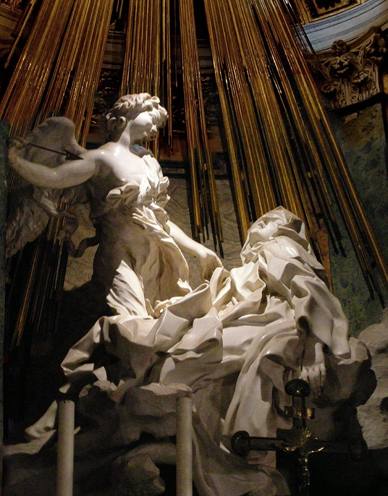 Bernini-SantaTeresaemextase-barroco