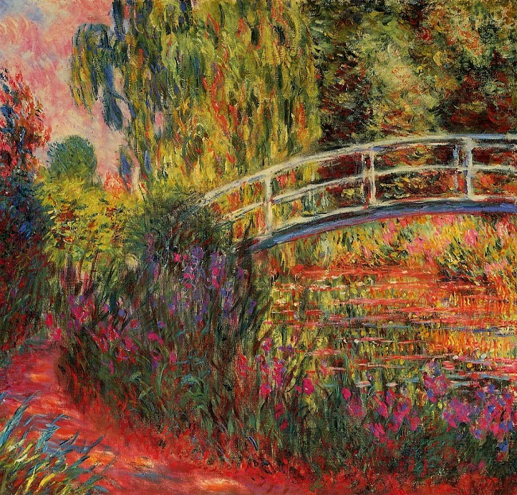 Water-Lily_Pond_1900_Claude_Monet_Boston