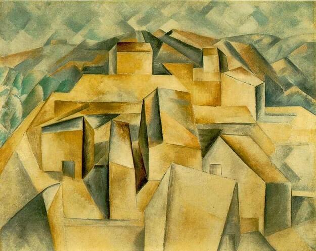 Braque-Casas-na-montanha19091
